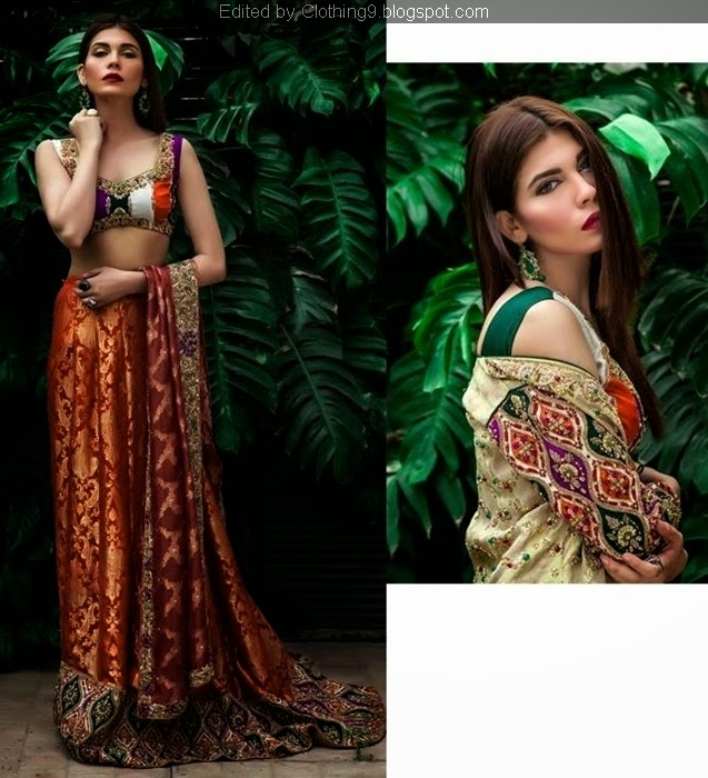Pakistani Bridal Clothes Fashion 2015-16