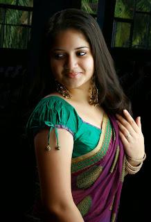 Actress Shafna In Saree 3.jpg