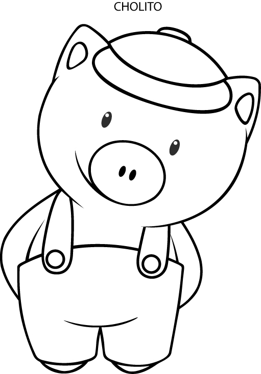 Sapo pepe Y Sus Amigos Colouring Pages