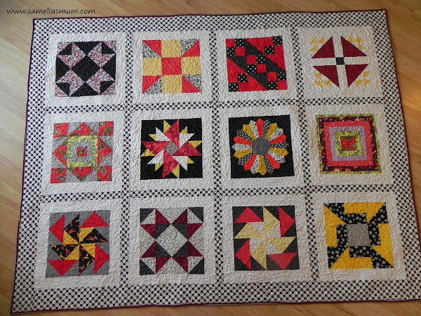 My New Quilt - Made by 12 People