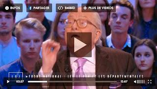 Jean-Marie Le Pen dans Le Grand Journal - le 26 mars 2015
