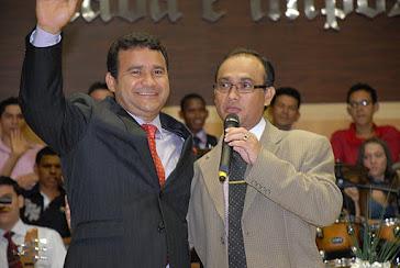Pr. Daniel Vieira e Pr. Portela