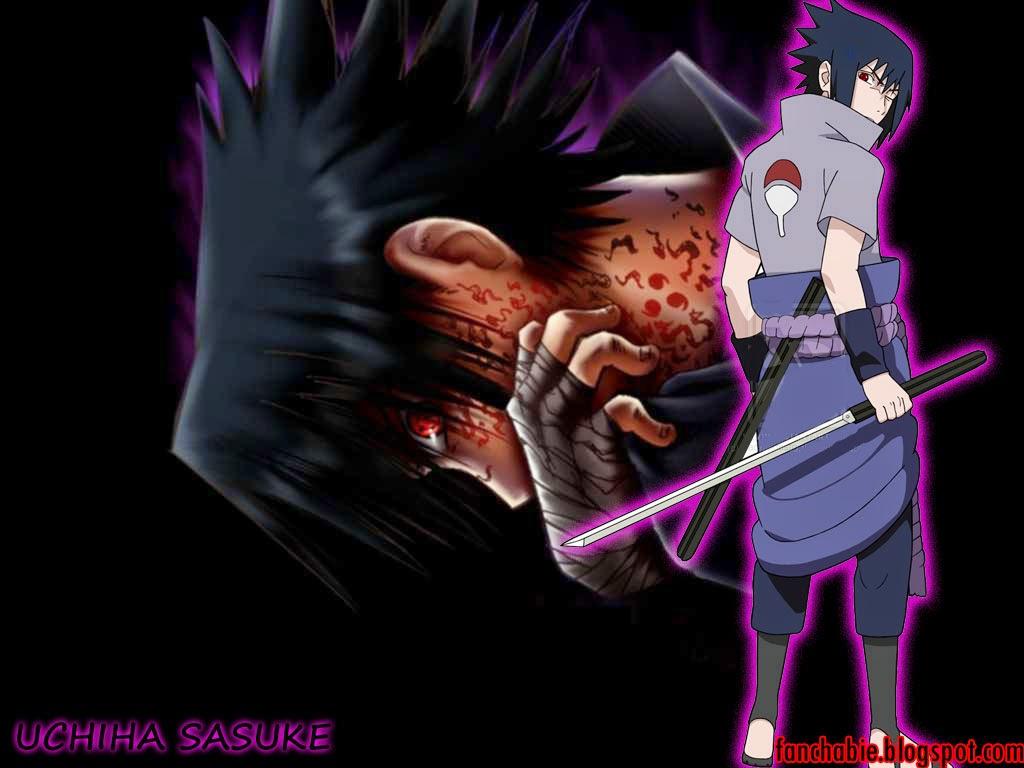 Uchiha Sasuke Naruto Shippuden Sword