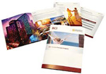 RCI Vacation Rewards collateral, designed by John Baker