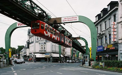 Amazing Hanging Trains in Germany Seen On www.coolpicturegallery.us