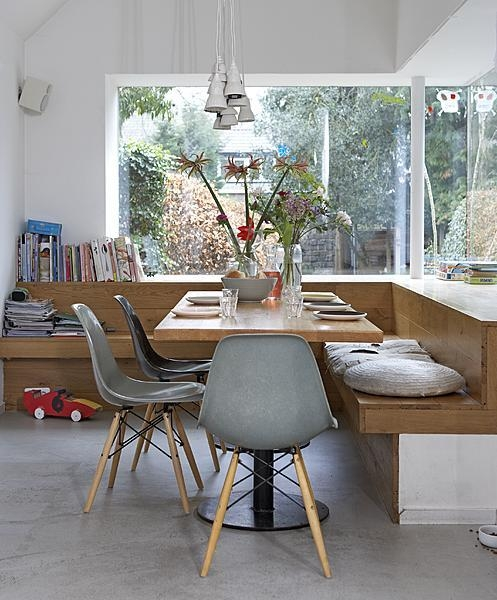 Keuken Hoekbank Met Tafel : blog de decora??o – Arquitrecos: Um cantinho para a copa