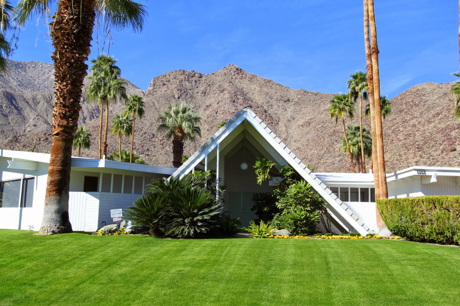 Walking Tour, Vista Las Palmas, Palm Springs, Modernism Week 2014, Swiss Miss