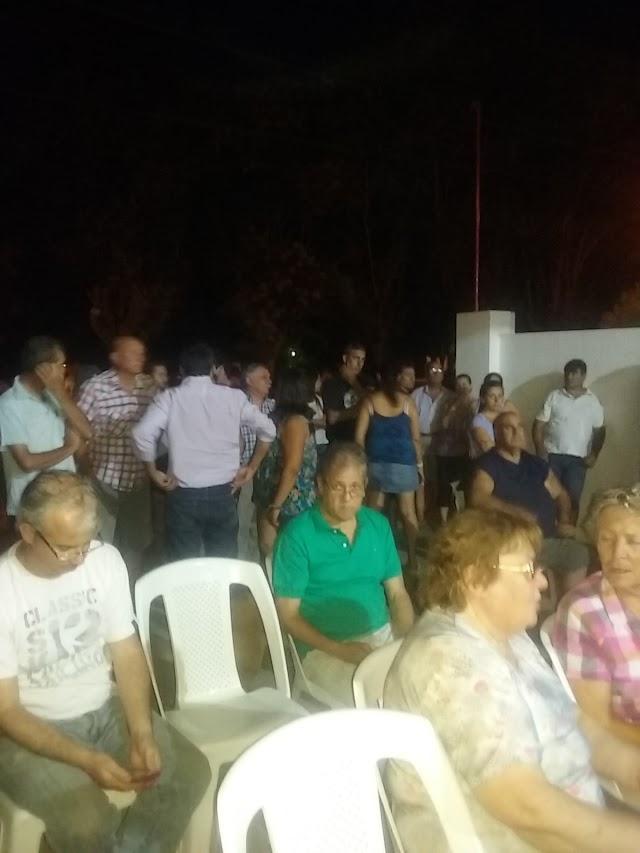 CAGONES :  Villa Lía pidió seguridad otra vez, pero los funcionarios no fueron