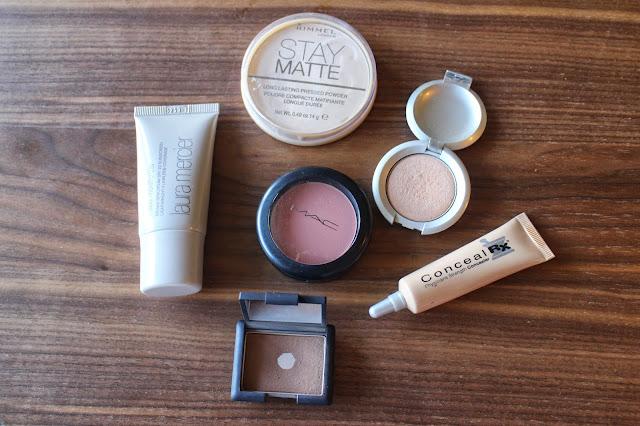 travel face makeup
