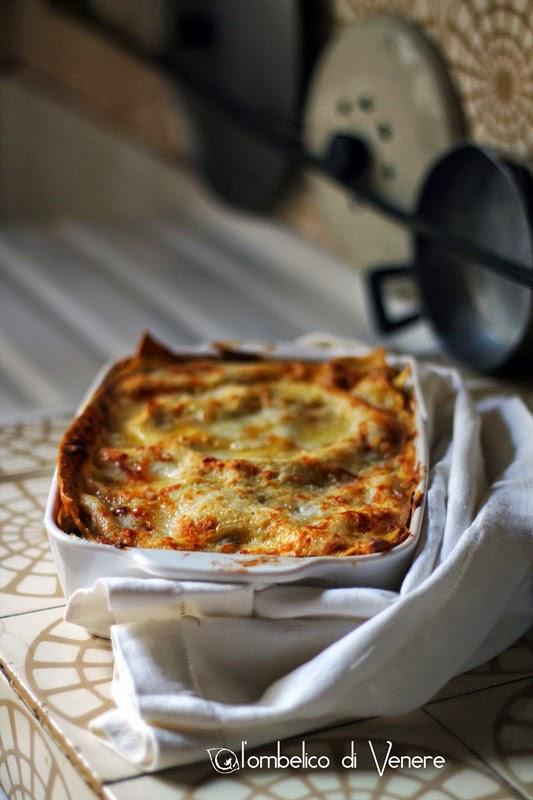 lasagne allo speck castagne e gorgonzola