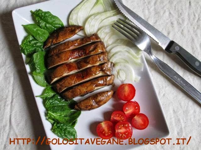 funghi, portobello, ricette vegan, Secondi, tamari,