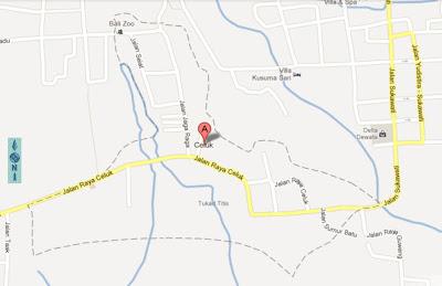 Celuk Map