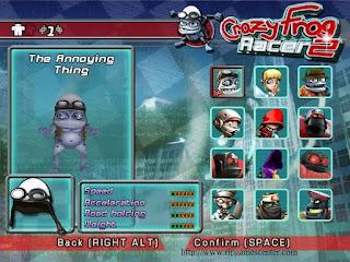 Crazy Frog Racer Games