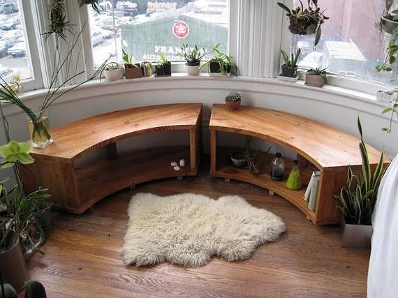 ... www.etsy.com/listing/52525351/curved-bay-window-bench-recycled-douglas