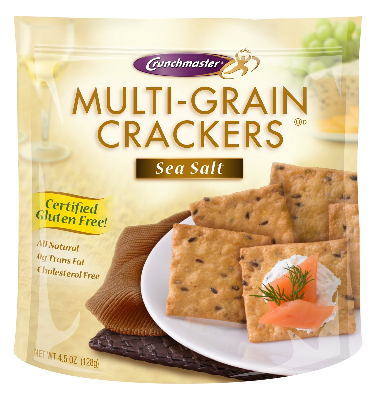 Gluten Free Crunchmaster Multi-Grain Crackers and New Crisps - Gluten ...