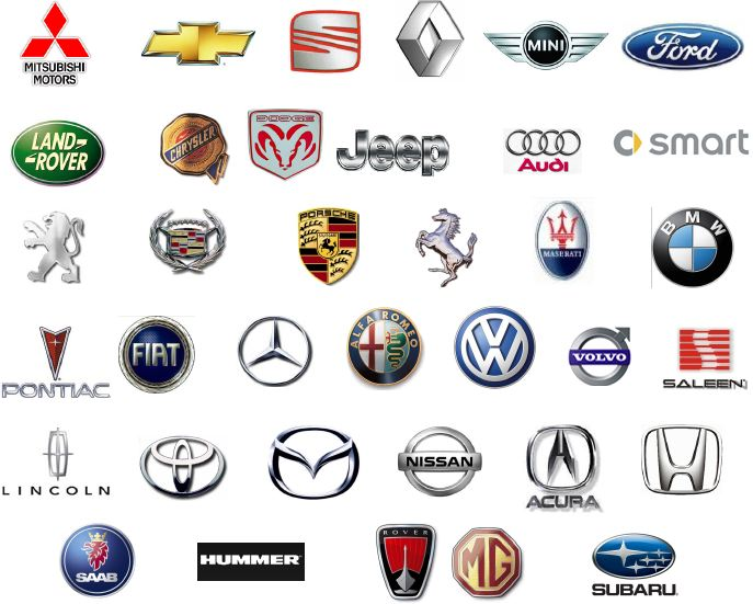 Logos historia testeados pruebas y test de autos for Marcas de coches