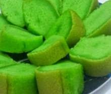 Resep Cara Membuat Kue Brownies Kukus Pandan