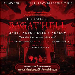 Halloween 2015 Bagatelle LA