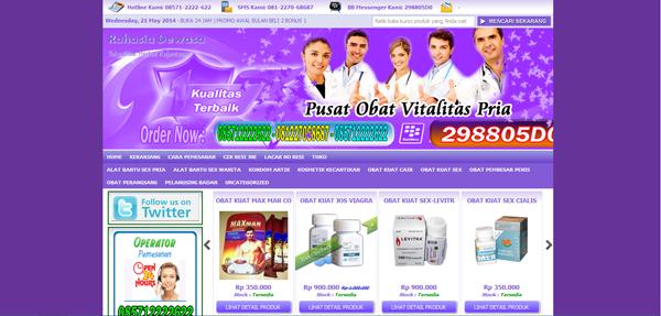 Rahasiadewasa.net Toko Online Pasutri Terpercaya