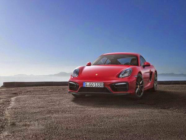 2017 Porsche Cayman GT4 Concept