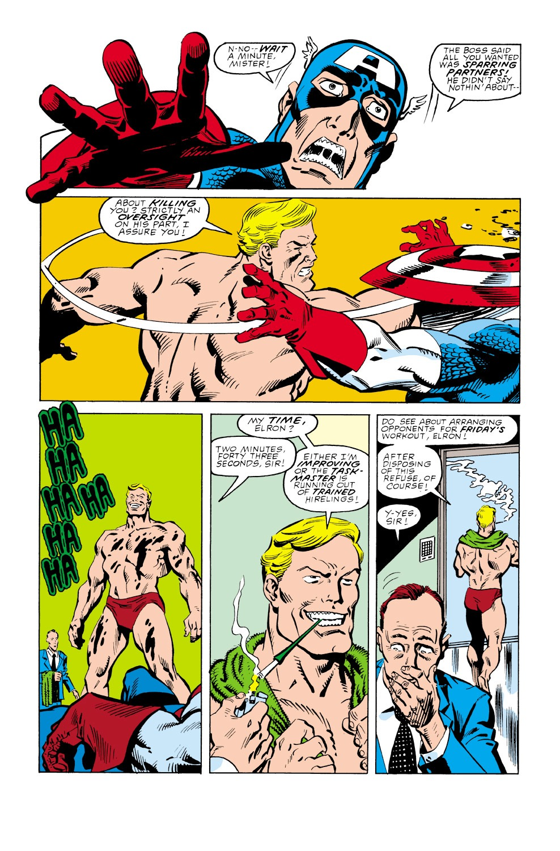 Captain America (1968) Issue #350 #282 - English 6