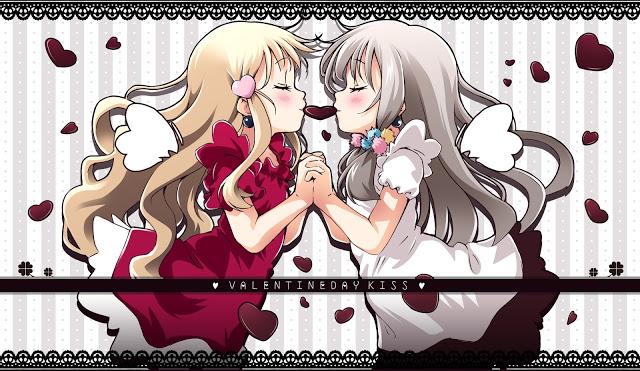 Anime Valentines Day 2013   Anime Girl Kiss ?