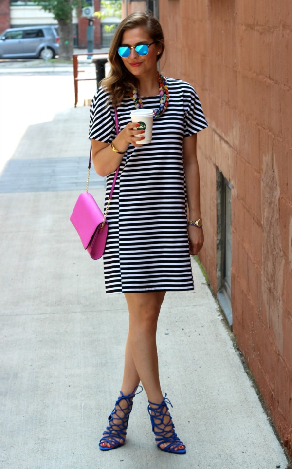 curated by amy striped dress