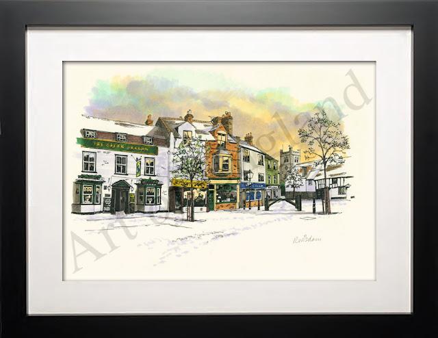 Waltham Abbey Print