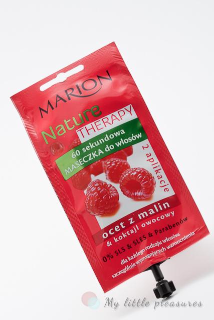 """Marion Nature Therapy - 60 sekundowa maseczka do włosów """"Ocet z malin"""""""