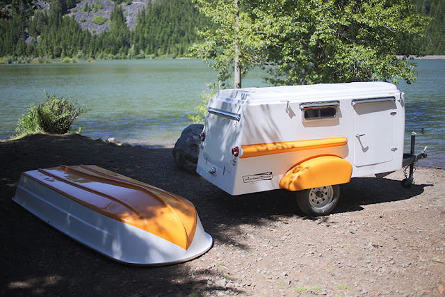 trailer and boat