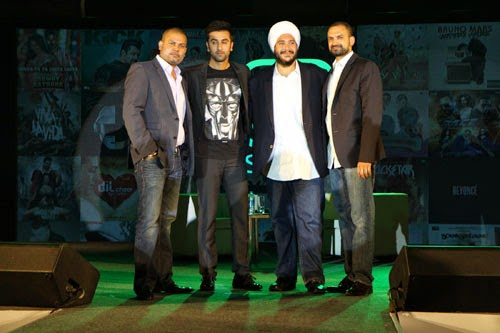 Ranbir Kapoor Joined Hands As Creative Partner With Saavn Event Gallery