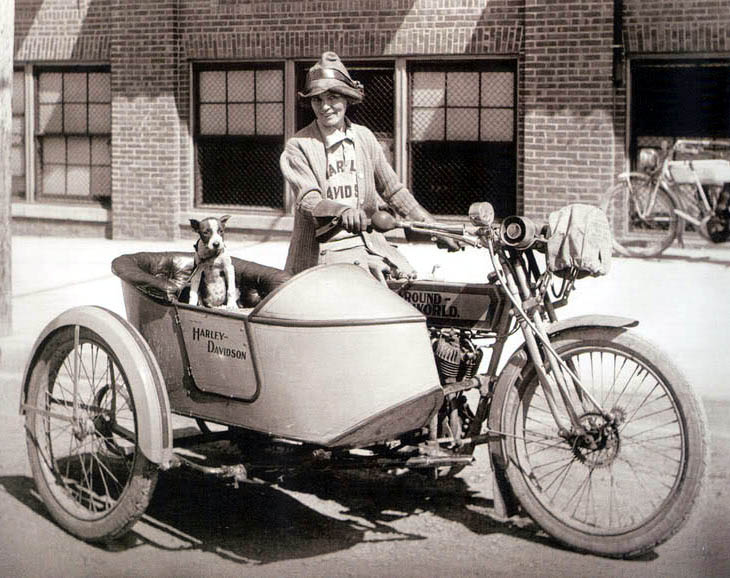 Just A Car Guy: Sidecars and motorbikes