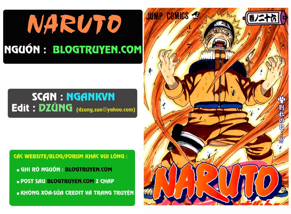 Naruto chap 291 Trang 1 - Mangak.info