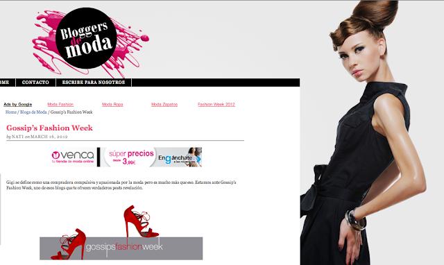 bloggers de moda olga gigirey gossipsfashionweek gossip fashion week