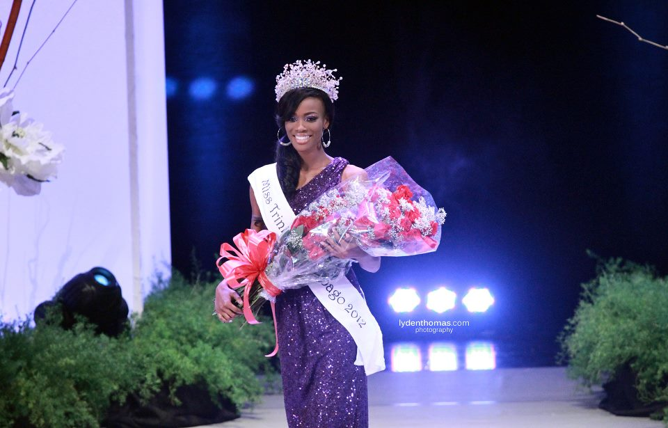 Miss Trinidad and Tobago Universe 2012 winner Avionne Mark