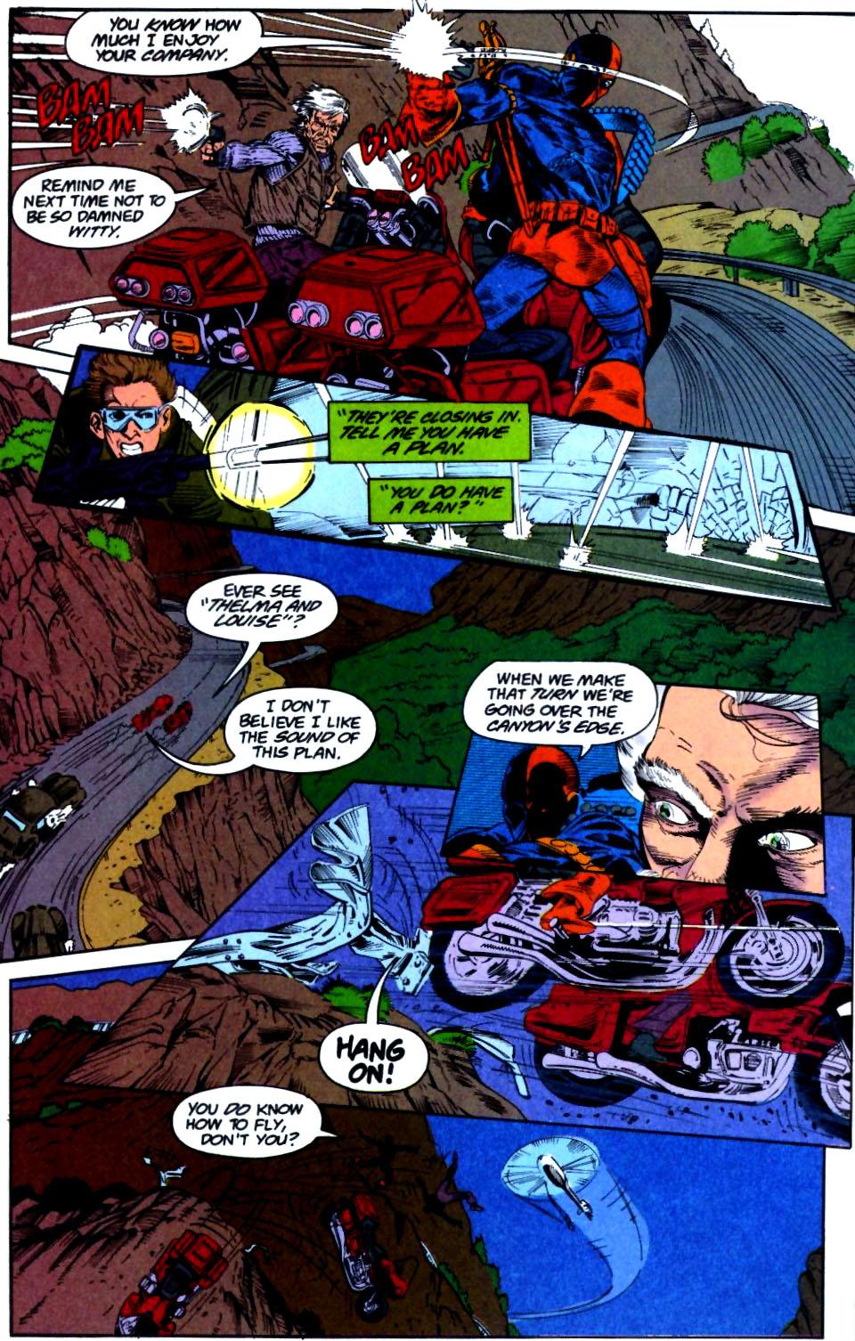 Deathstroke (1991) Issue #28 #33 - English 8