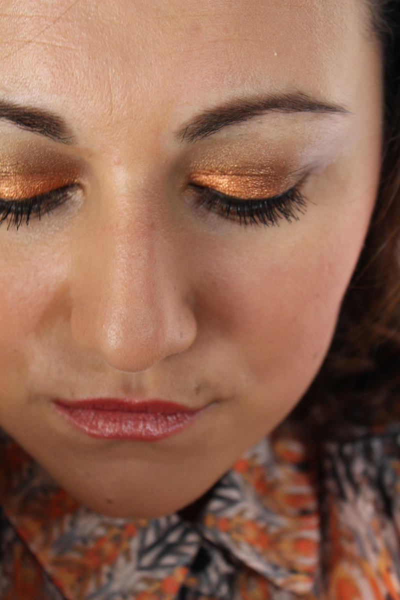 nyx,pigment,orange,walnut,amu,makeup