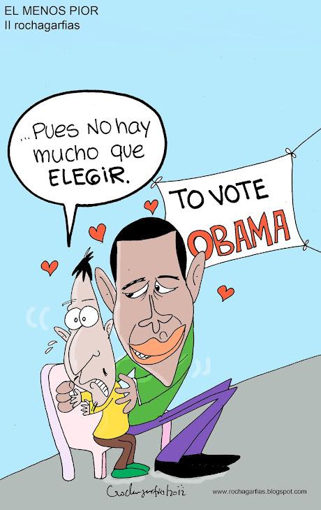 """Obama; el """"menos pior""""."""