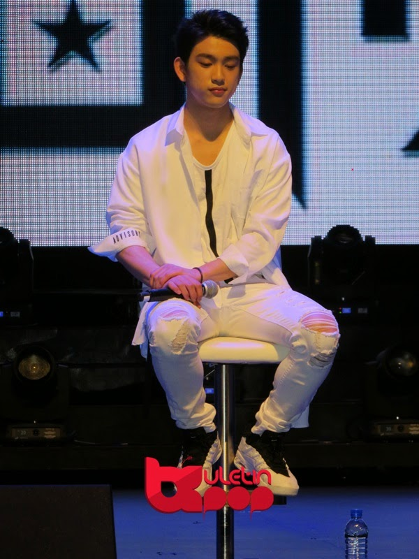 GOT7, Singapura, fan meeting, 2015, Jr.