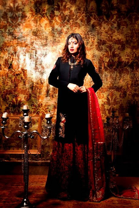 Zara Shahjahan 2014 Party Suits Collection-06