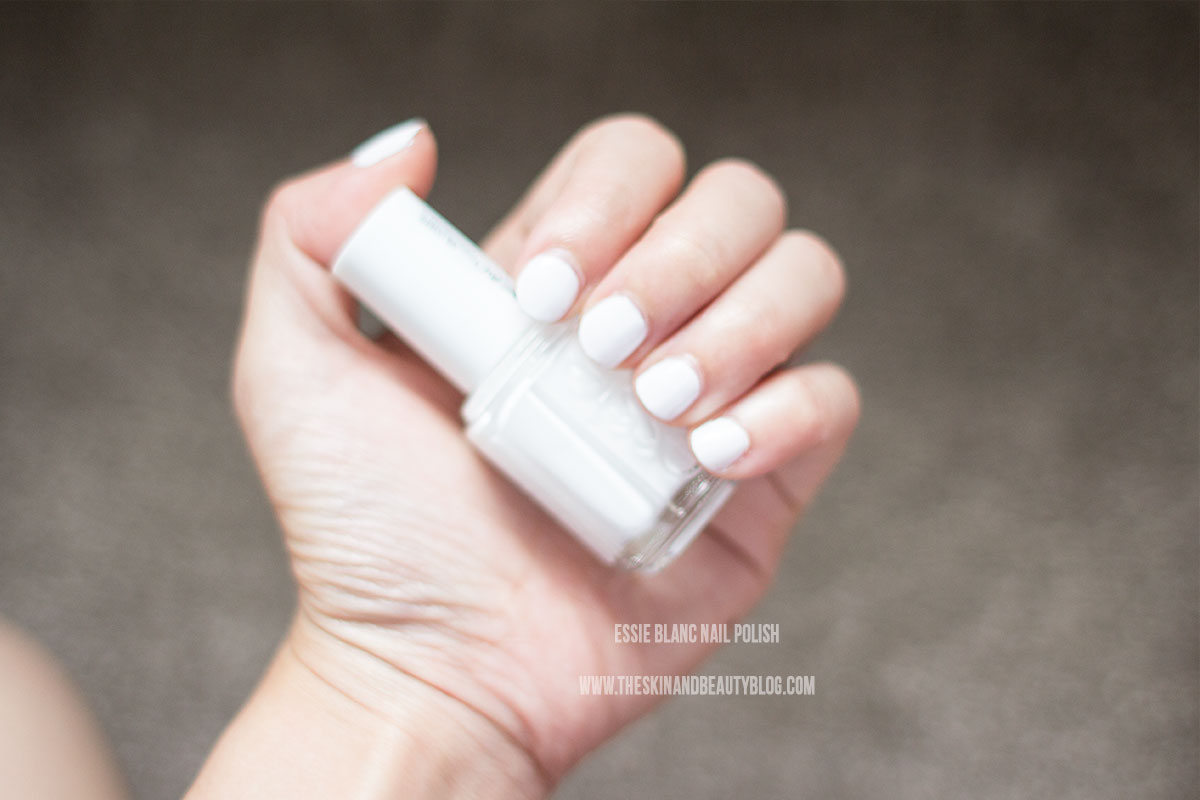 Too Too Hot and a little Blanc with Essie Nail Polishes!   The Skin ...