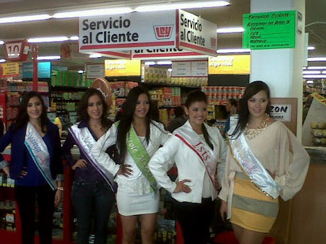 Visitan Candidatas locales comerciales del Centro de Guaymas