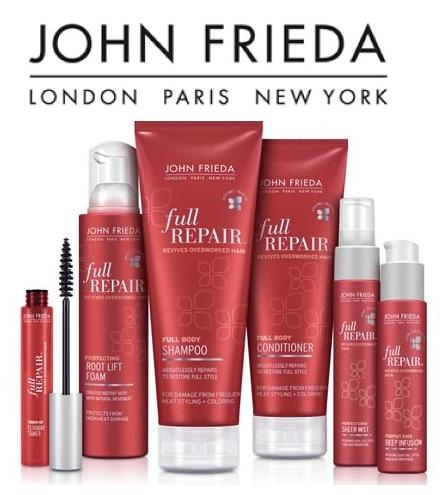 John Frieda - Linha Completa de Cabelo