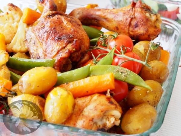 Kulinarne Szalenstwa Margarytki Kurczak Z Piekarnika Z Warzywami