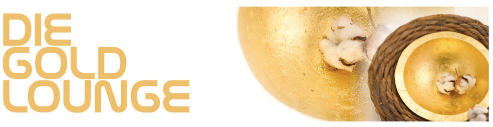 die GOLDlounge - Vergolden mit Blattgold