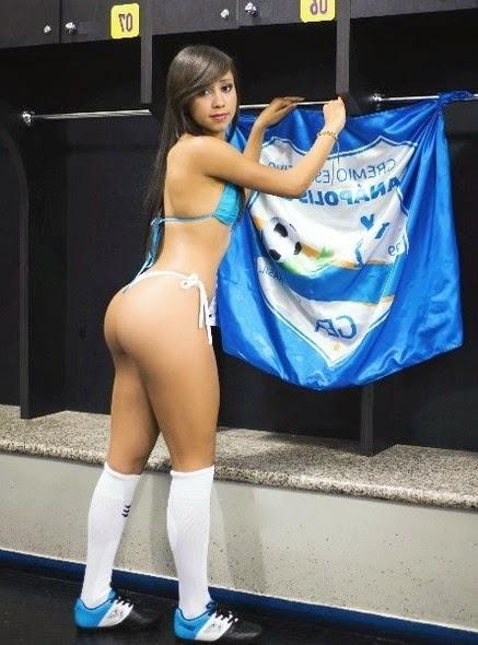 Jéssyca Lorraine Musa do Grêmio Anápolis no Goianão 2014