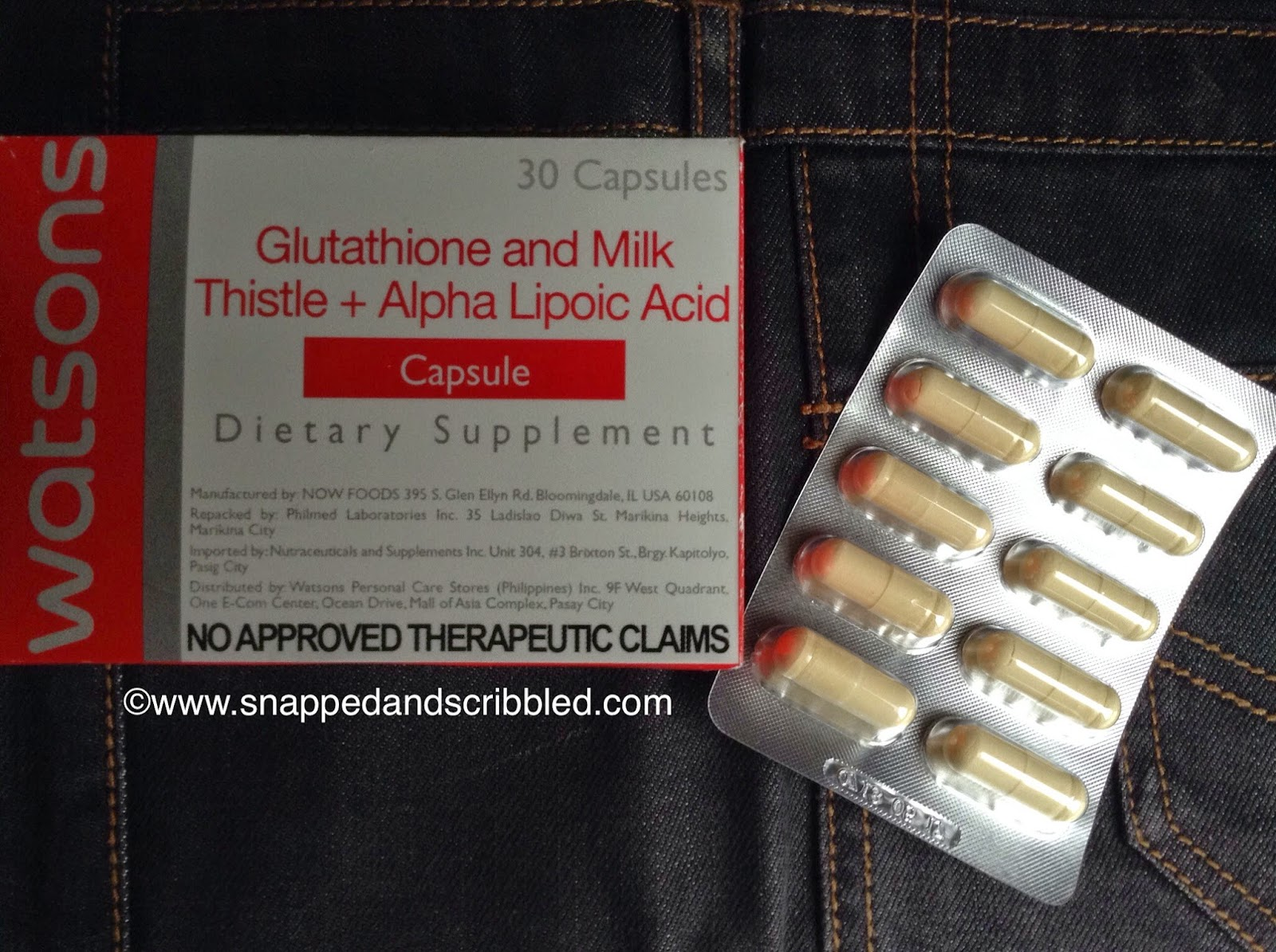 Must Try at Watsons: Glutathione Dietary Supplement ...