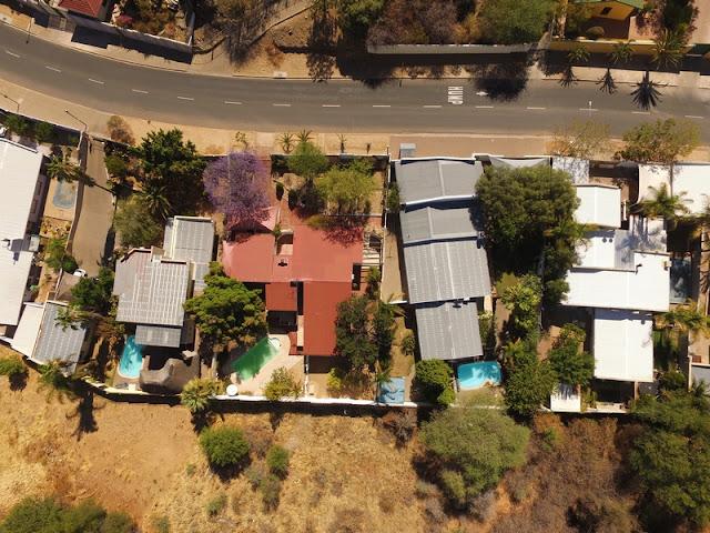 Namibia aerial photos