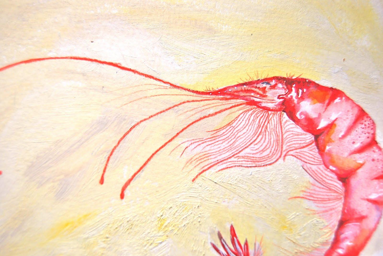 Shrimp Painting