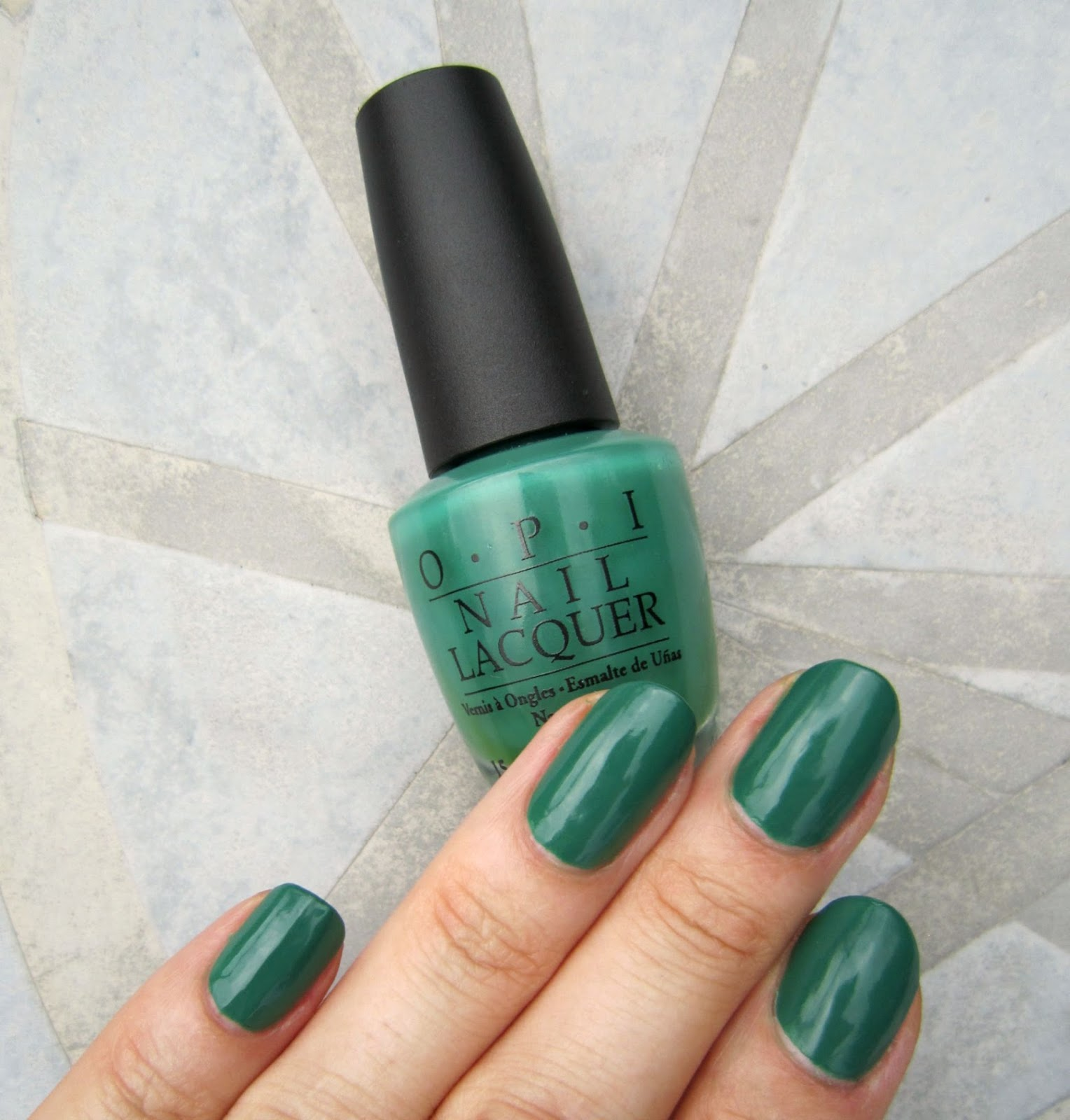 Concrete and Nail Polish: OPI Jade Is The New Black